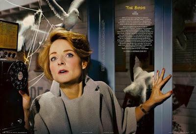 Vanity Fair - Jodie Foster en Los Pájaros