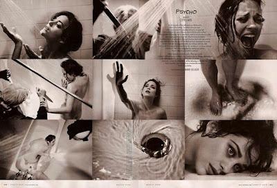 Vanity Fair - Marion Cotillard en Psicosis