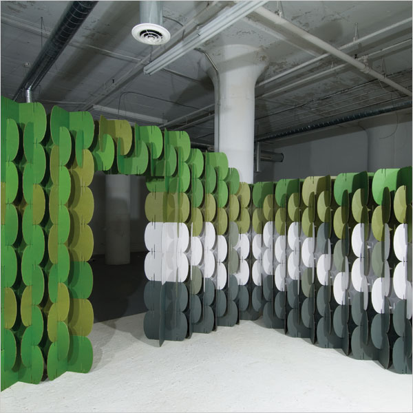 Nomad system paredes modulares de cart n camionetica - Paredes modulares ...