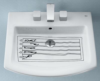 Lavamanos Olímpico por Javier Mariscal