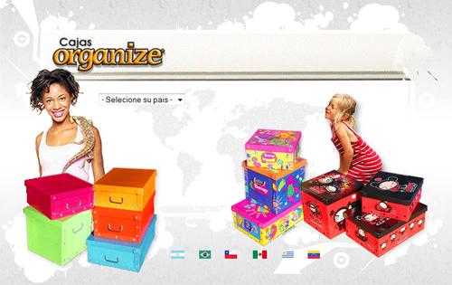 Cajas Organize