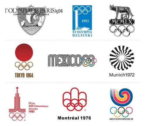 Historia De Los Logos De Las Olimpiadas 1924 2012 Camionetica