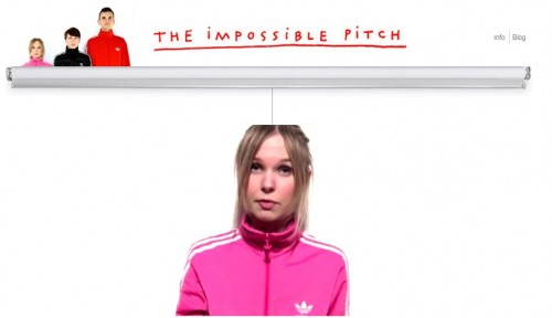 the impossible pitch adidas