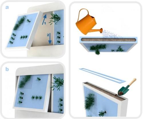 Ecohabitare - Jardines verticales para tu casa