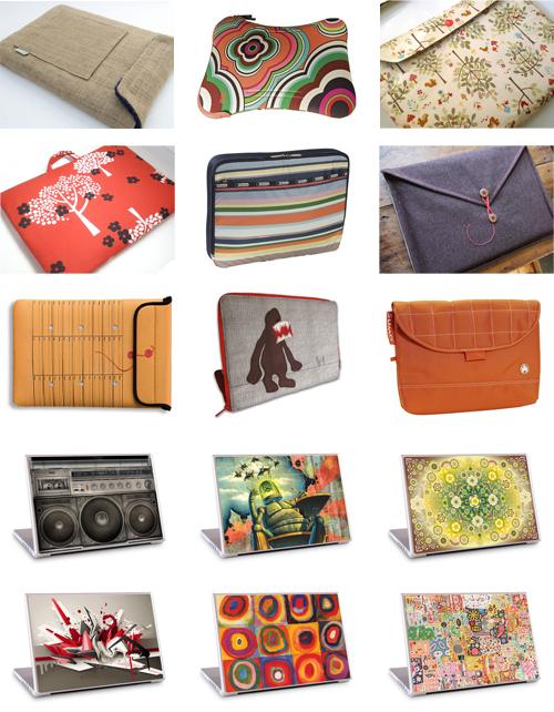 Colección de forros e ideas para vestir y decorar tu laptop