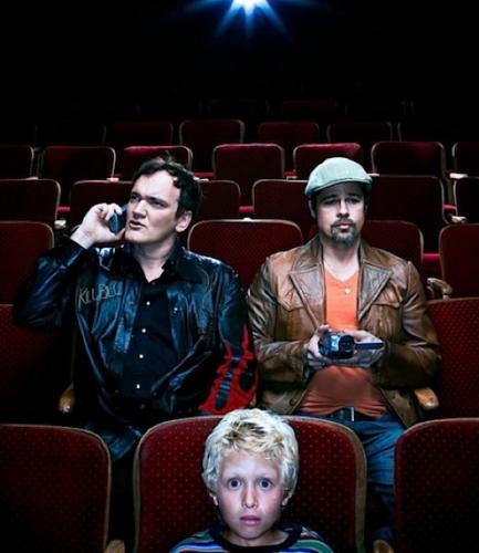 Brad Pitt y Quentin Tarantino (cine, móviles y piratería) - Wired