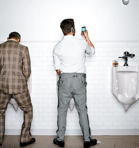 Brad Pitt - Mensajes de Texto desde el Baño (Wired)