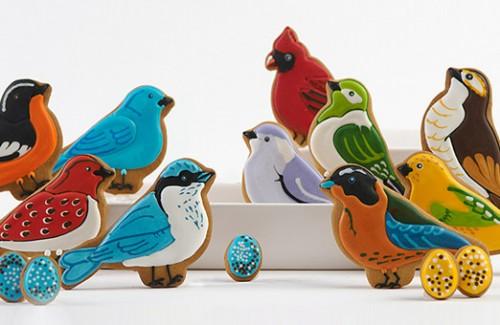 Galletas con forma de Pájaros - Eleni's