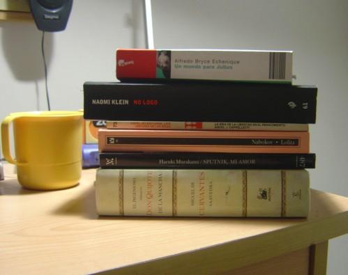 Lecuras en Septiembre: Un mundo para Julius, No Logo, El Quijote
