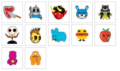 Kidrobot Icons