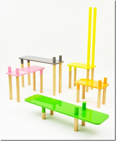 Welcome to the Jungle: Muebles Modulares Infantiles de Rui Alves