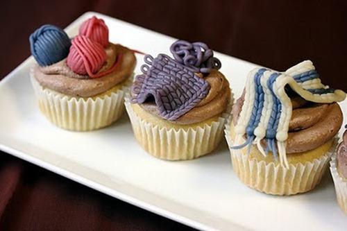 Pasteles Cupcakes de Colores