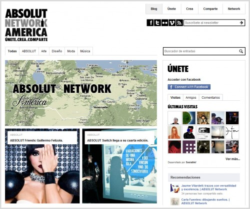 Camionetica en Absolut Network América