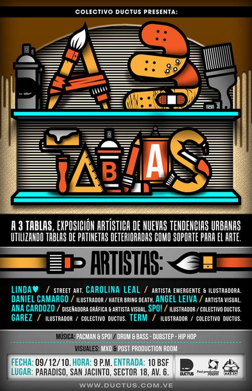 Exposición Colectiva A 3 Tablas - Maracaibo