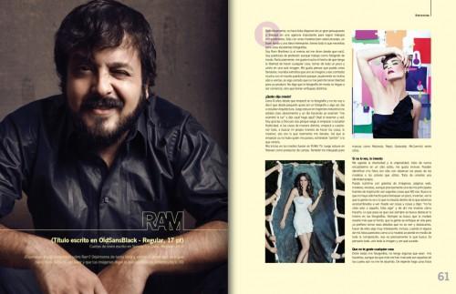 Entrevista por Camionetica ¡Que! Revista - RAM Fotografía