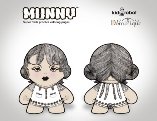 Munny Dominique por Silke