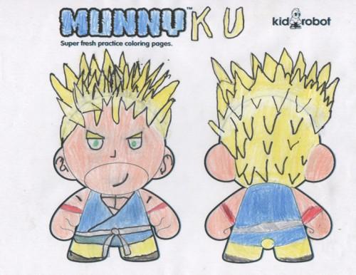 Munny Ku por El Chino