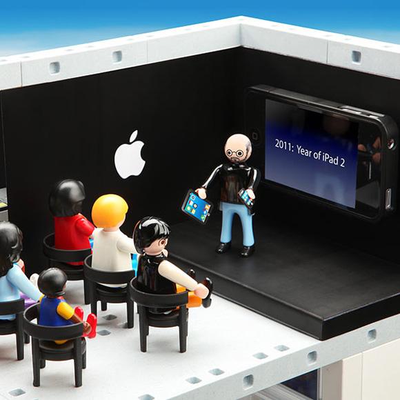 Playmobil Apple Store - Steve Jobs
