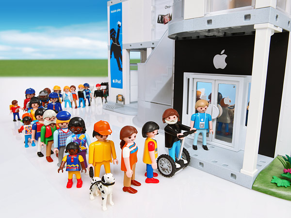 Playmobil Apple Store - Cola