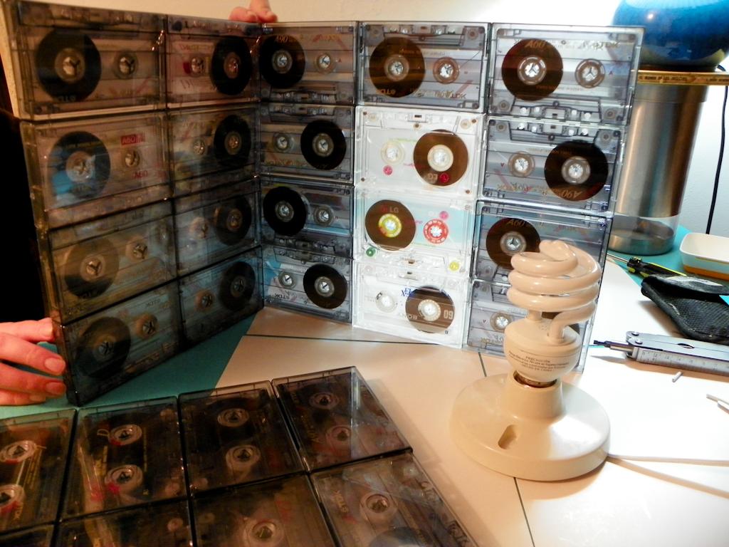 Tutorial Lámpara de Cassettes: pruebas para el ensamblaje final