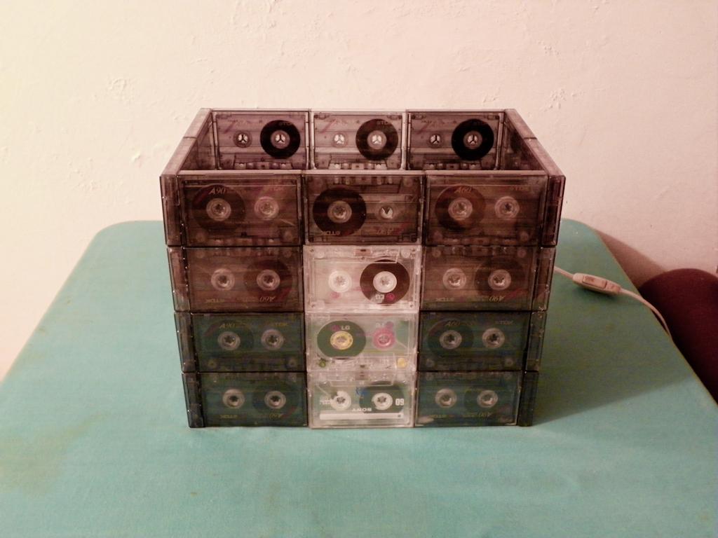 Tutorial Lámpara de Cassettes: Final