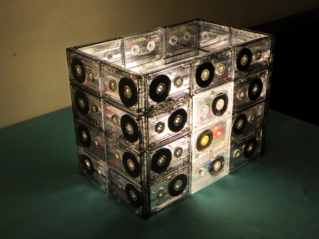 Tutorial Lámpara de Cassettes: Final Encendida (Vista 45)