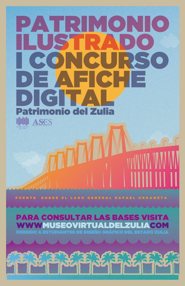 I Concurso de Afiche Digital Patrimonio Ilustrado del Zulia