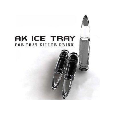 Hielos con forma de balas AK47