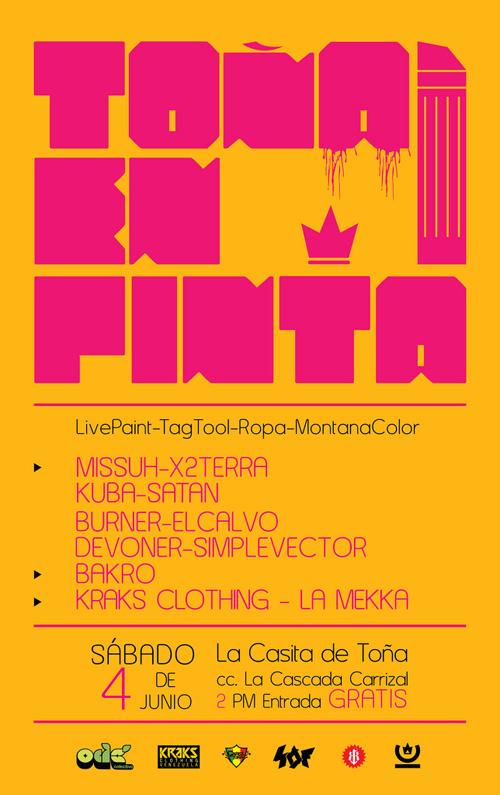 Toña en Pinta: Evento de Livepainting en Los Teques