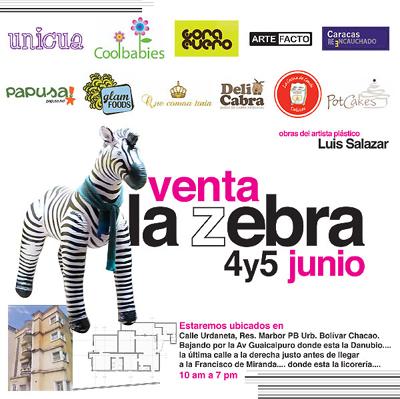 Venta La Zebra: Mercado de Diseño 4 y 5 de junio 2011