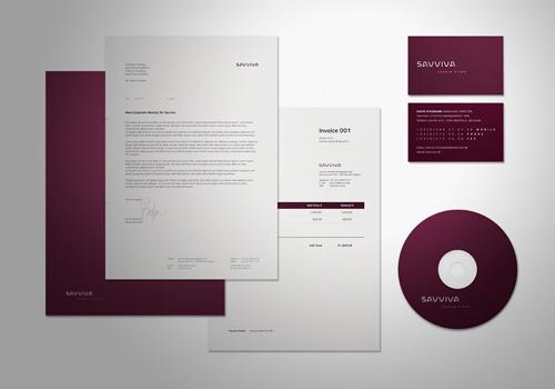 Identidad Corporativa para Savviva por Denis Olenik