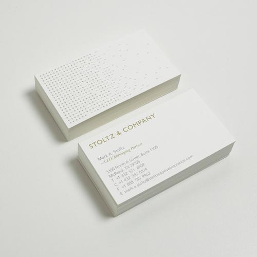 Identidad Corporativa para la empresa especialista de seguros Stoltz & Company por Jonathan Davies