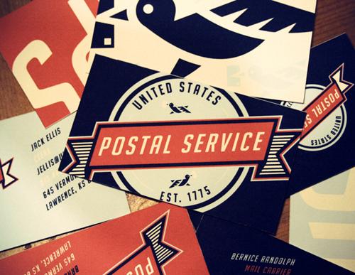Rediseño completo de Identidad Visual para el Servicio Postal de Estados Unidos (USPS) por Matt Chase
