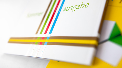Perfektion: set de brochures para Schlütersche Druck por Anja Leidel