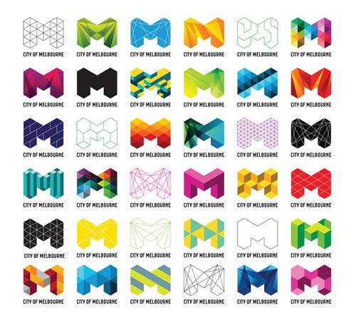 Branding para la Ciudad de Melbourne por Jason Little, Ivana Martinovic, Jefton Sungkar, Malin Holmstron y Sam Pemberton