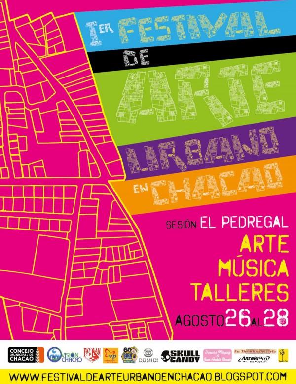 1er Festival de Arte Urbano en Chacao - El Pedregal, 26 al 28 de agosto 2011