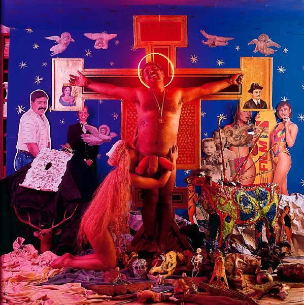 La autocrucifixión de Nelson Garrido (Nelson Garrido, 1993)