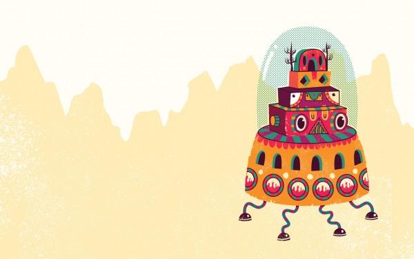 Ilustraciones de Wilmer Murillo para Wallapers en Kuvva