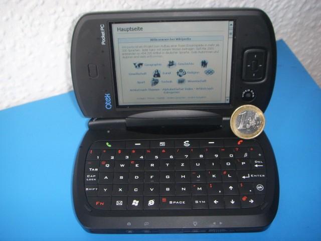 Pocket PC qTek 2006 (Foto: Wikipedia)