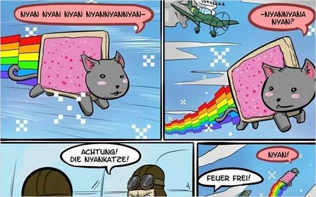 Where Do Rainbows Come From (Comic strip) - De dónde vienen los arcoíris (tira cómica)