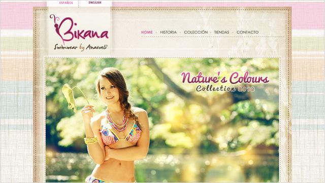 Bikana Swimwear. Nueva colección Nature's Colours 2012