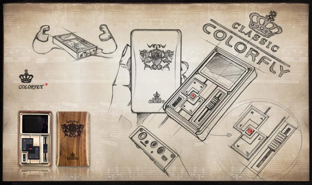 Colorfly: Player Mp3 Steampunk
