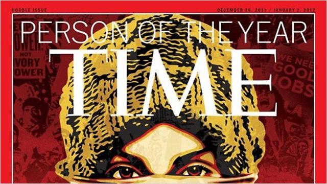 Shepard Fairey en Time Magazine