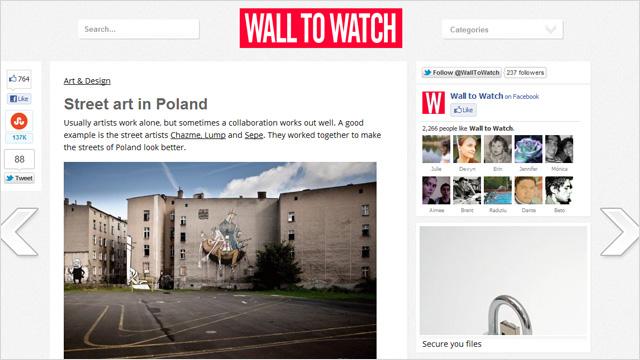 Street Art en Polonia
