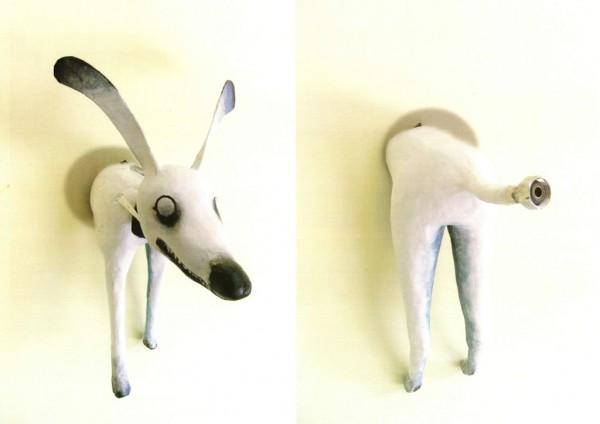 Perro Picado (Escultura: Lilian Maa'Dhoor, Venezuela)