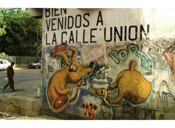 Un Perro Picado (Mural: Okso & Uki, Venezuela)