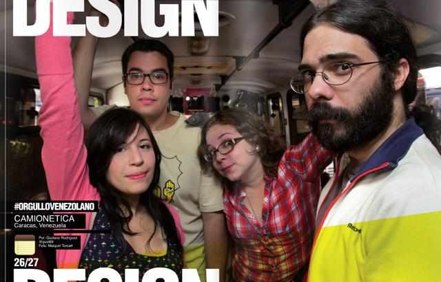 Revista NOW #13: Entrevista a Camionetica (Diana Martínez, Gustavo Márquez, Daniela Fonseca y Daniel Yanes Arroyo). Foto: Maiquel Torcatt