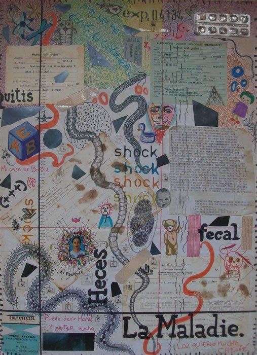 Carlos Medina (Deva Dásis) - Collage