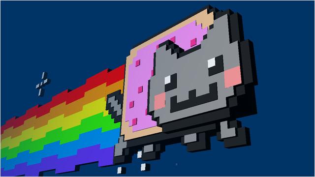 Nyan cat en 3D