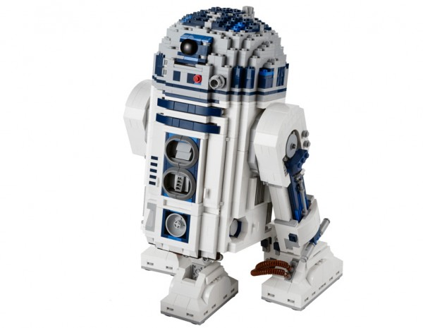 R2-D2 Lego. Edición para Coleccionistas, 31cm de alto. Modelo 10225 R2-D2